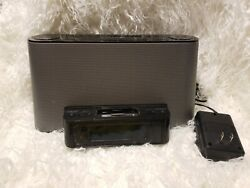 Sony Dream Machine ICF-CS10iP iPod iPhone 30 pin Dock and AM/FM Clock Radioonly