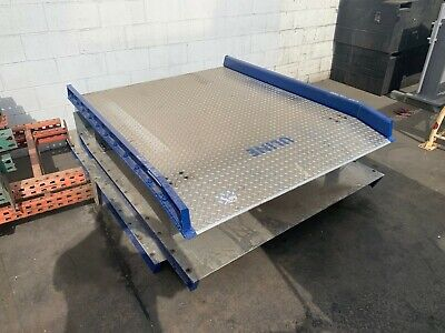 New 10000 Lb. Capacity Aluminum Dock Plates Unused 60 X 72 Uline Pn Ac60