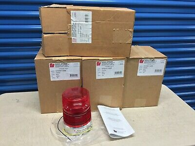 Federal Signal 131dst-120r Warning Light Double Flash Strobe Tube 120v Ac New