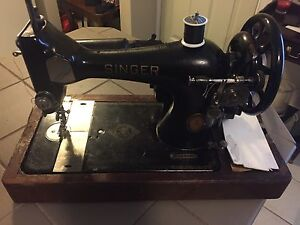 Old Singer electric sewing machine