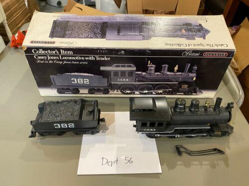 Jim Beam Casey Jones Train Locomotive with Tender in Box Empty