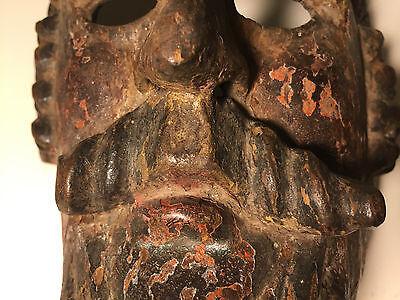 Antique, ca1750-1850, Ethnographic, Wooden Mask Guatemala (Guatemalan) w/PATINA!