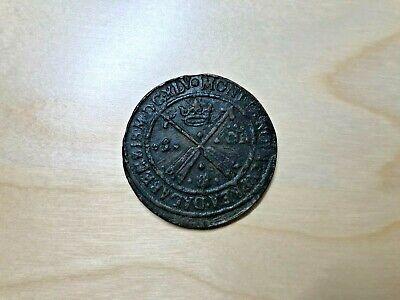 Münze Schweden Öre 1645 Königin Christina 49mm Christina Königin
