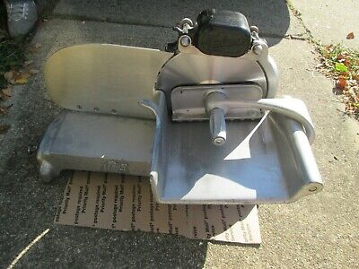 A Rare Hobart Commercial Deli Meat Slicer Model 210 Vintage