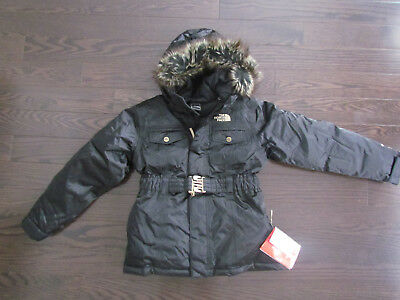 NEW THE NORTH FACE ATLANTIC WATER PROOF 550 FILL DOWN JACKET GIRLS M 10-12 Atlantic Down Jacket