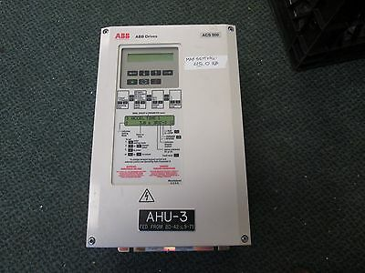 Abb Acs501 Ac Drive Acs501-010-4-00p2 10hp Used