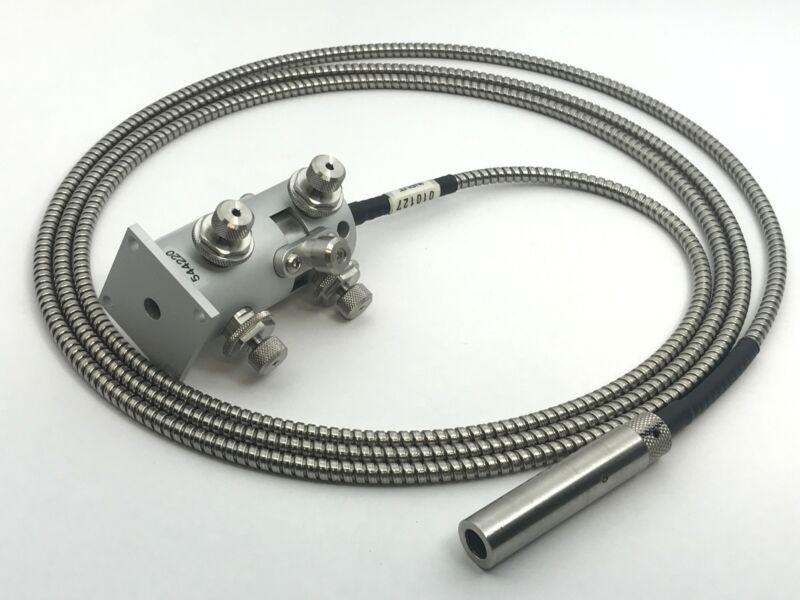 Qioptiq KineFLEX Kinematic Coupler & Collimated Fiber Optic Launch BB VIS SM