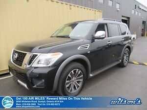 2018 Nissan Armada SL 4X4 | NAVI | SUNROOF | LEATHER | HEATED SE