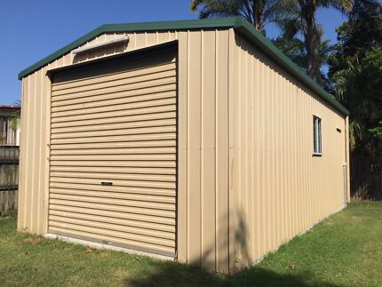 Shed 4.6x9m with roller doors