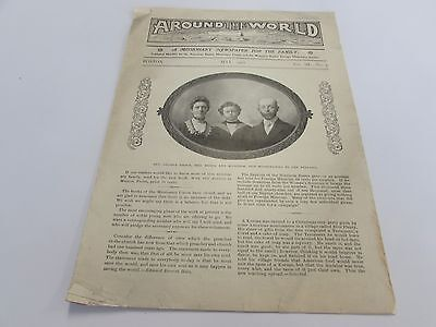 ANTIQUE - AROUND THE WORLD - MISSIONARY NEWSPAPER FOR THE FAMILY - MAY 1902