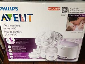 New AVENT Double Electric Breast Pump