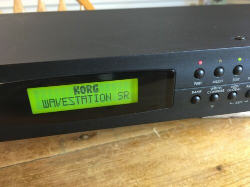 Korg Wavestation SR - Synth Module w/new battery + Manuals - Excellent Cond.