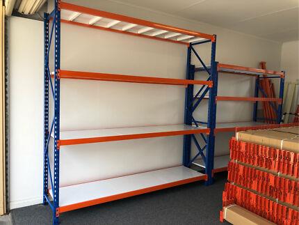 Metal shelving/Racking 1200kg 2m(H)x2.4m(W)x0.6m ~Brand new~