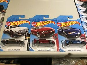 Hot wheels Nissan skyline set of 3 cars