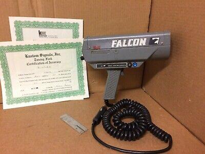 Falcon Handheld Police Radar Gun Kustom Signals Lockrelease Button Tuning Fork