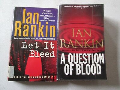 IAN RANKIN LOT OF 2 MYSTERY PAPERBACKS Detective Inspector John Rebus Mysteries for sale  Shipping to India