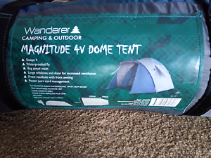 Wanderer Magnitude 4V Dome Tent 4 Person from BCF Maddington Gosnells Area Preview