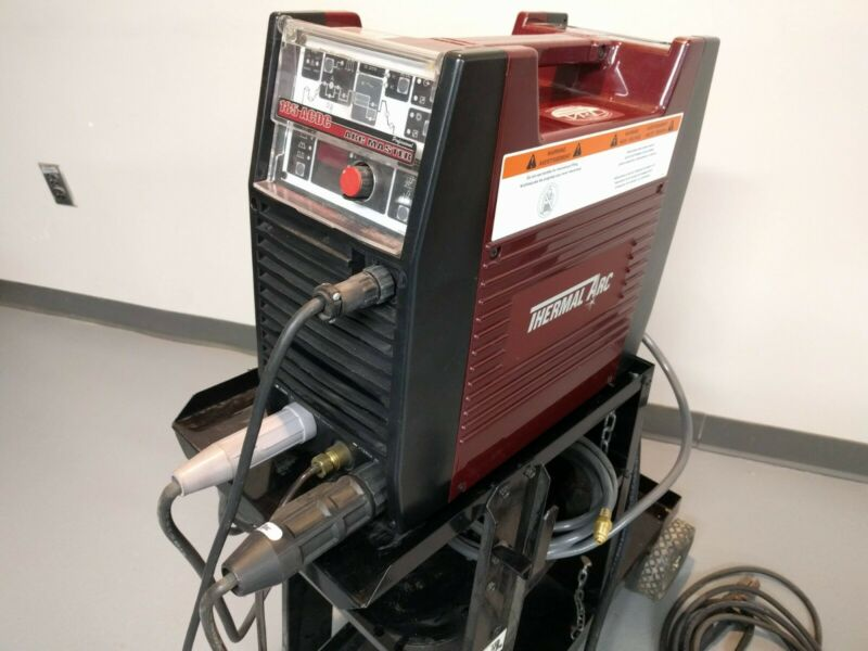 THERMAL ARC 185 AC/DC TIG AND STICK WELDER WITH FOOT CONTROL