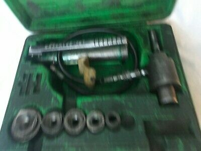 Green Lee 767 Hydraulic Knockout Punch Set Set B