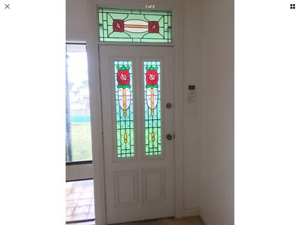 Stained Glass French Doors Building Materials Gumtree Australia