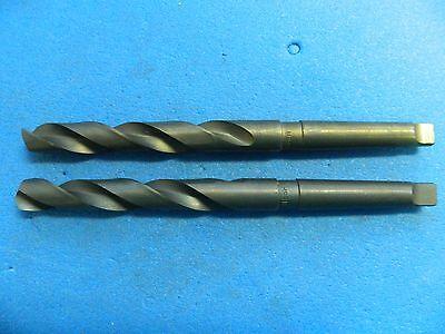 Interstate Taper Shank Drill Bits 0.7283 X 233mm Oal 2mt Hss Qty. 2 01567189