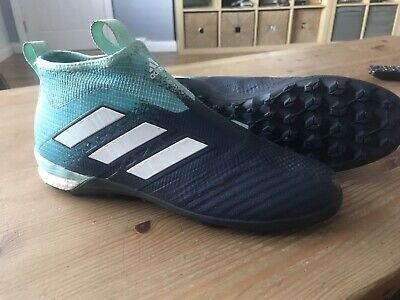 Adidas Ace 17+ Purecontrol Laceless Astro Trainers UK 6