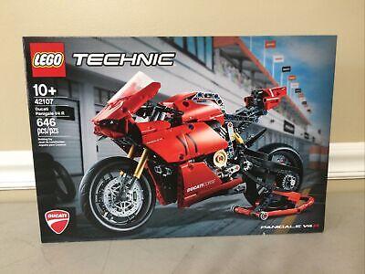 LEGO Technic Ducati Panigale V4 R Motorcycle NIB Factory Sealed