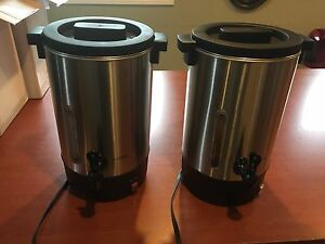 New 100 Cup Coffee Dispensers