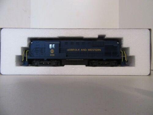 HO Scale KATO #389 Norfolk and Western Locomotive Blue/Gold w/Kadee Couplers