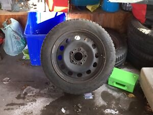 Winter Tires & Rims - 5 x 120mm Bolt Pattern