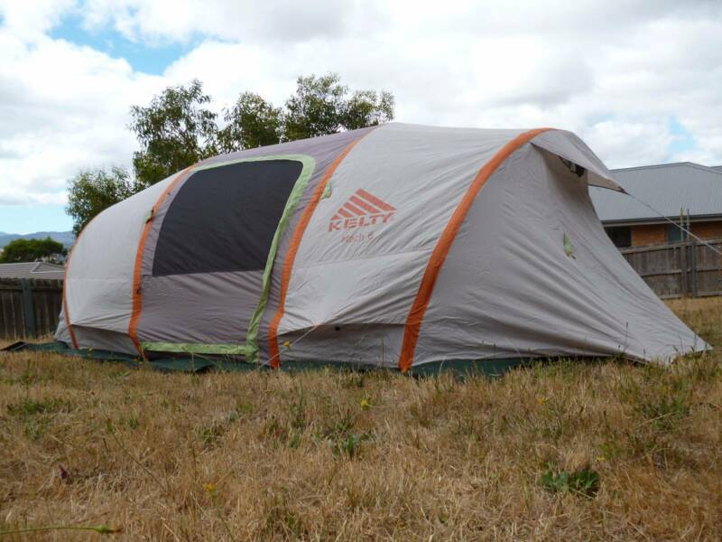 Kelty Mach 6 Air Pole Tent Lauderdale Clarence Area image 2. 1 of 9 & Kelty Mach 6 Air Pole Tent | Camping u0026 Hiking | Gumtree Australia ...