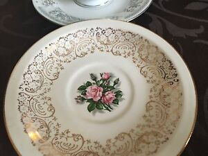 Antique Cups Saucers Dishes