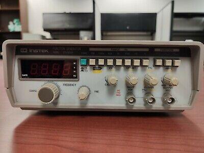 Gw Instek Gfg-8020h Function Generator 0.2hz 2mhz With Variable Dc Offset