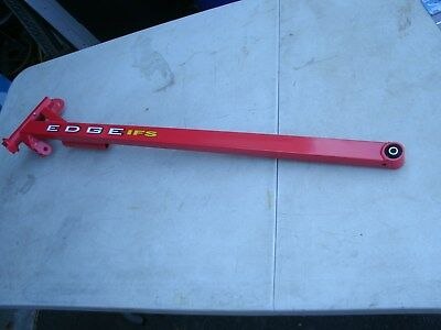 Polaris Snowmobile red trailing arm EDGE Left side new with decal