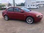 Mitsubishi Lancer with RWC & Rego Garbutt Townsville City Preview