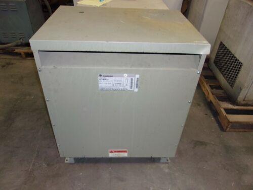 GE GENERAL ELECTRIC 75kva 3ph TRANSFORMER 9T23B3874