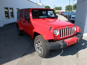 2017 Jeep Wrangler Unlimited Sahara BLUETOOTH DEL 2 TOITS NAVI D