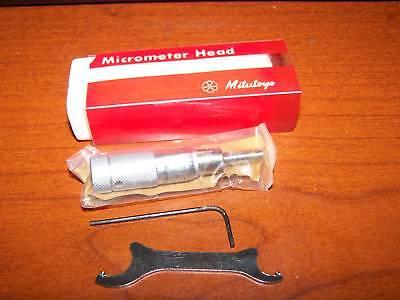Mitutoyo Micrometer Head 1 Inch New Job Machine Shop