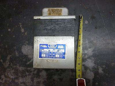 Dongan Transformer 35-1025 H.v 480x240 L.v. 240120 Used