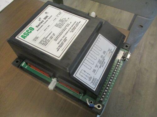 Asco Series 300 Control Panel 473670-006 400A 480V 50-60Hz 3Ph Used