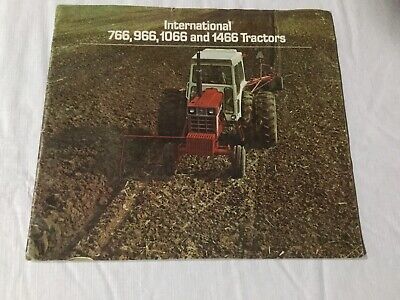 International 766 966 1066 1466 Tractors 1973 24 Pages