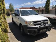 2007 TOYOTA HILUX WORKMATE COLD AIR CONDITIONING & MECHANICALLY A1 Green Fields Salisbury Area Preview