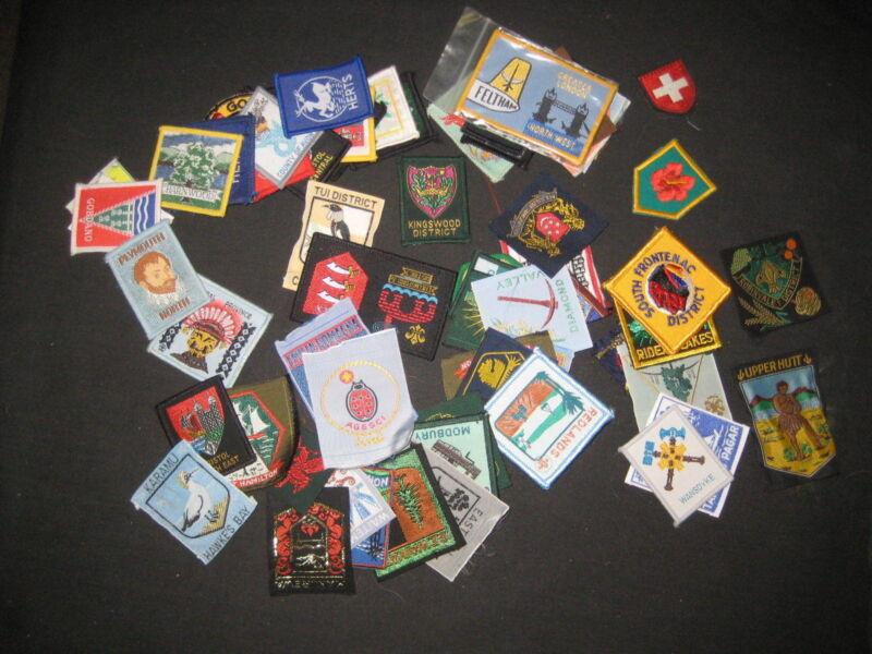 71 Worldwide Boy Scout District & Region Patches   fx 03