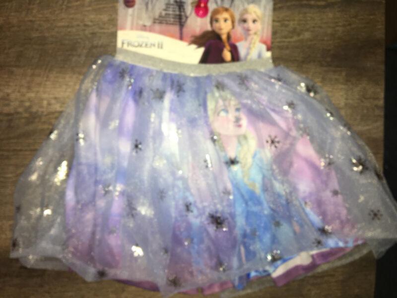 Claire's Disney Frozen II Little Girls Tutu Skirt Elsa Costume