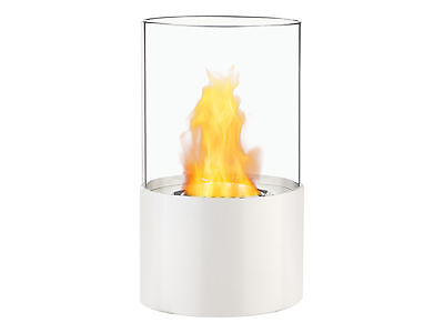 Portable Ventless Bio Ethanol Tabletop Fireplace - Circum White | Ignis
