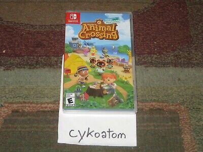 Animal Crossing: New Horizons (Nintendo Switch, 2020) BRAND NEW & Sealed!!