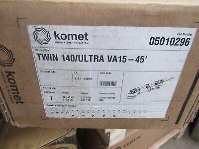 komet twin sprinkler va15-45' sprinkler BNIB