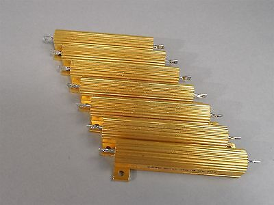 Mixed Lot Of 7 Pacific Power Resistor 70w - New