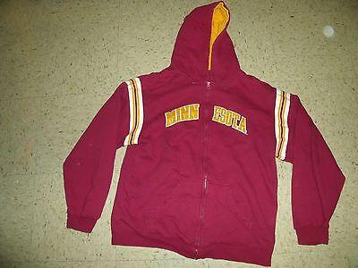 Minnesota Gophers Ncaa Sweatshirt Hoodie College Apparel Pro Edge Medium Cool