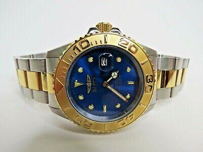 Invicta Pro Diver Quartz Watch Men's Blue Two Tone 29949 43mm
